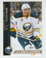 (61429) 2015-16 UPPER DECK EXCLUSIVES EVANDER KANE #275 (080/100)