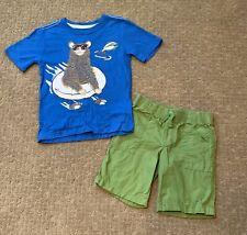 Crazy 8 Boys Size 4 Short Set