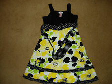 """Girl's, """"STUNNING DRESS FROM JUSTICE"""", size 10, WORN ONCE, Floral w/belted waist"""