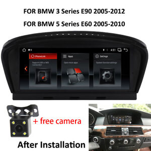 "8.8"" Android 10 Car GPS Navi Radio For BMW 3 5 Series E60 E61 E63 E90 2005-2012"