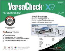 VersaCheck X9 2019 For QuickBooks