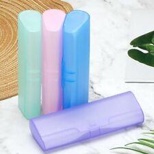 Portable Plastic Glasses Case Fashion PP Eyeglass Box for Men Women Accessories