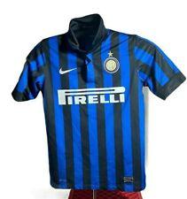 Inter Milan Nike 2011 - 2012  Home Soccer Jersey Football Shirt Boys Medium Used
