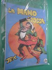 TEX n. 1 La mano rossa aut 478 Non Censurato ANASTATICA Prima Edizione Spillato!