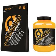 Scitec Nutrition Jumbo Hardcore 3060g-6120g Weight Gainer nur 13g Zucker