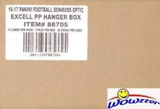 2016 Donruss Optic Football Factory Sealed 36 Box Hanger CASE-Purple Parallels!