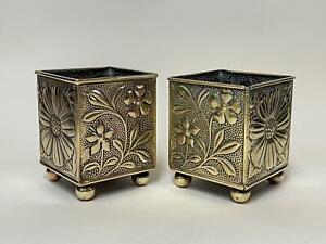 Rare Arts & Craft Miniature Planters - Liberty W Morris Christopher Dresser era