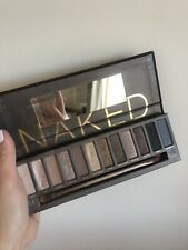 Urban Decay Naked Palette With Eyeshadow Brush