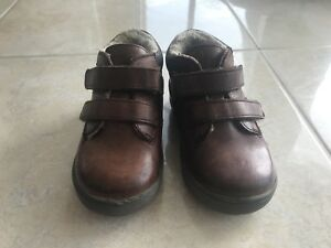 Leder Schuhe Puschen Hausschuhe Loko Zug Tram 2-3Jahre Gr 25 26 Echtleder NEU