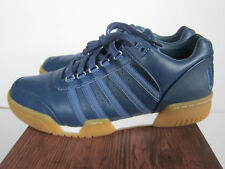 UBIQ x K-SWISS GSTAAD BIG LOGO SZ 10 BLUE INDIGO TENNIS SHOES RETRO 05133-430
