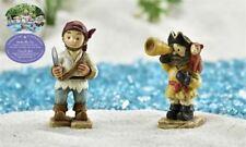 Fairy Garden Mini - Under The Sea - Pirate Figurines - Set of 2