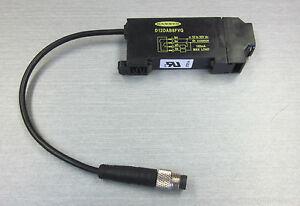 Banner Engineering D12DAB6FVQ Fiber Optic Sensor 39546