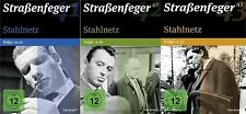 Straßenfeger 41+42+43 - Stahlnetz Folge 1-22 - Wolfgang Völz - 12 DVD - 3 Boxen