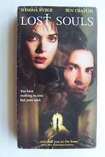 Lost Souls VHS Video Tape