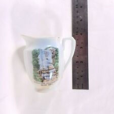 Vintage Bridal Veil Falls Leura Blue Mountains Milk Jug Souvenir Retro