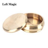 Buddha Slot Box (Half Dollar,Brass)Magic Tricks Magician Close Up Illusions Prop