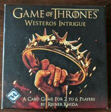 Game of Thrones: Westeros Intrigue - Card Game - Perfect Condition
