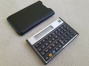 Hewlett Packard HP 15C Calculator, with sleeve, excellent condition, works great