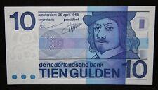 More details for netherlands 10 gulden 1968 banknote  p 91b