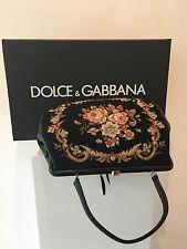Vintage Gobelin Tapestry Bag mit Blumenmuster, mit Dolce & Gabbana Karton