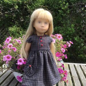 Sasha Doll  Shoes,socks and  Blue Dress Set
