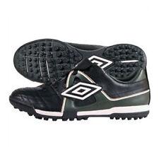 Umbro Speciali trofeo Jnr TF Negro Blanco Zapatos De Fútbol De Oro Verde de carreras británico