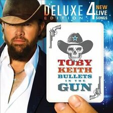 Bullets in the Gun Deluxe Edition Toby Keith CD, Oct-2010, Show Dog Nashville b3