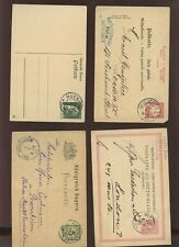 GERMANY 1881-1919 STATIONERY 5 7 1/2 10pf USED 21 CARDS