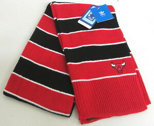 NBA Chicago Bulls Women's Multi-Color One Size Fits All Scarf By adidas