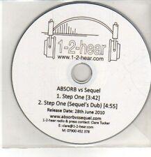 (CQ541) Absorb vs Sequel, Step One - 2010 DJ CD