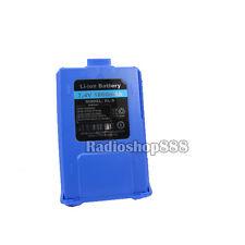 Original BaoFeng UV-5R Dual Band radio battery *blue* 1800mah 7.4V Li-ion UV5