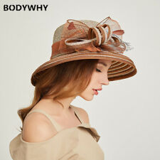 2020 New fashion personality straw hat soft big-brimmed hat female dome sun hat