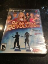 Dance Dance Revolution: Disney Channel Edition Game Only Sony PlayStation 2 New