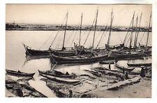 River Scene - Nasiriyeh Photo Postcard c1905 / Nasiriyah / Iraq