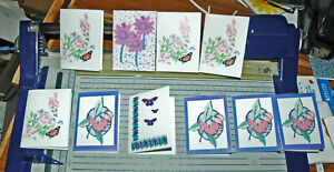 10 MINI GIFT NOTELETS WHEN ENVELOPES ARE NOT NEEDED [FREE P&P]