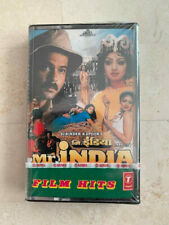 BRAND NEW SEALED MR INDIA CASSETTE TAPE SRIDEVI BOLLYWOOD HINDI INDIAN ANIL KAPO