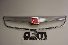 2007-2009 Saturn Aura Front Center Grille Chrome w/ Emblem new OEM 25786577