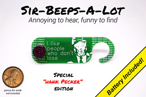 Annoying Beeping Office Prank Joke Noise Maker Annoy-A-Tron   Hank Pecker Editon