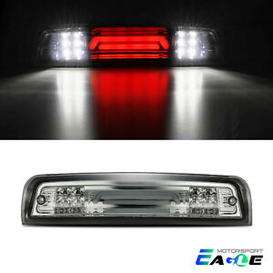 3D Led Third Brake Stop Rear Light Cargo Tail Lamp for 2009-2018 Dodge Black