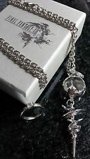 Final Fantasy XIII-2 Serah Farron Necklace & Ring FF13 XV Cloud Anime Cosplay