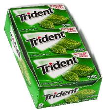 Trident Gum, Sugar Free, Spearmint - 12 - 14-stick pkgs