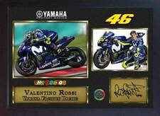 NEW 2018 Valentino Rossi Yamaha Signed autograph print Sport Memorabilia Framed