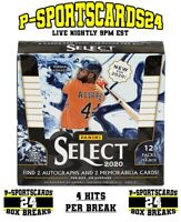 2020 PANINI SELECT BASEBALL CARDS MLB LIVE BOX BREAK #3725 | 1 RANDOM TEAM