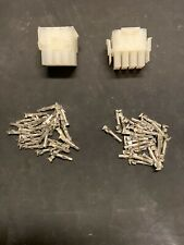 12 Pin Molex Connector Kit, 1 Set, 14-20 AWG .084 Pins Arcade Pinball