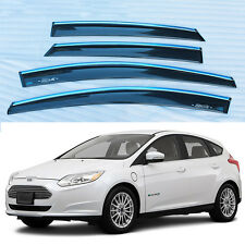 For Ford Focus 2012 Window Visor Shade Vent Wind Rain Deflector Guards Cover