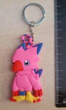 Digimon Biyomon Rubber Keychain 3 Inches Double Sided US Seller