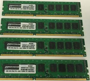 16GB KIT (4 X 4GB) MEMORY FOR  Fujitsu PRIMERGY MX130 S2