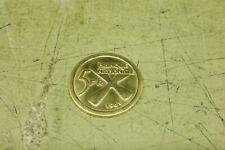 Katanga , 1961 , 5 Franken Gold , Seltene Goldmünze ehemaliges Kongo Republik