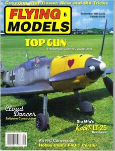 FLYING MODELS Magazine September 1999 Sig's Kadet LT-26 R/C Trainer
