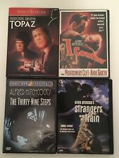 Alfred Hitchcock 4 Dvds Topaz Strangers on a Train Thirty-Nine Steps I Confess